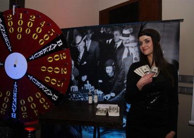 Impreza lata 20-30 Al Capone Prohibicja