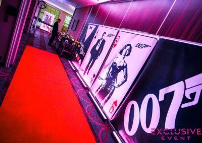Dekoracje tematyczne 007 Bond Casino Royale 14