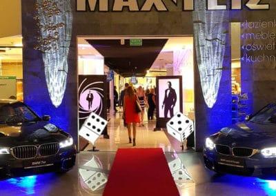 Dekoracje tematyczne 007 Bond Casino Royale 2