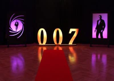 Dekoracje tematyczne 007 Bond Casino Royale 3
