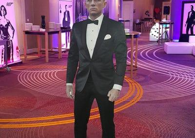 Dekoracje tematyczne 007 Bond Casino Royale 7