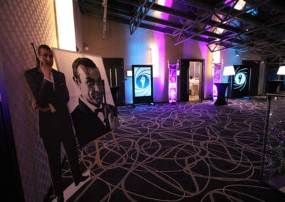 Dekoracje Bond Casino Royale 2
